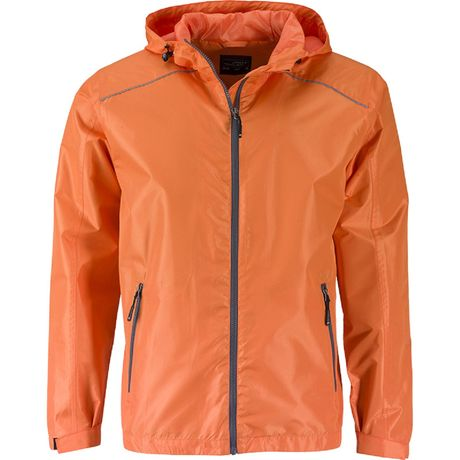 Coupe-vent homme - JN1118 - orange