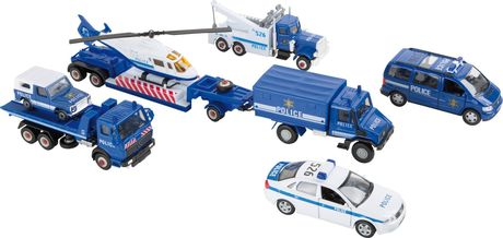 Voitures miniature Police - 8586
