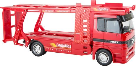 Camion miniature Mercedes Benz Transport de voitures - 8588