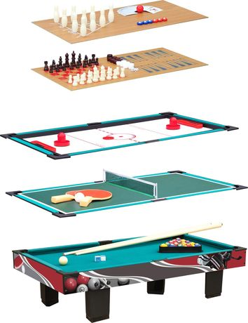Table multifonctionnelle 9 en 1 - 11278 - billard - ping-pong - bowling - etc