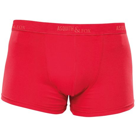 Lot 2 caleçons shorty - Homme - AQ091 - rouge