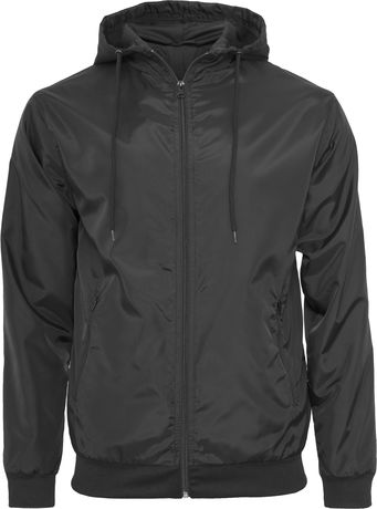 Coupe-vent style bomber - homme - BY016 - noir