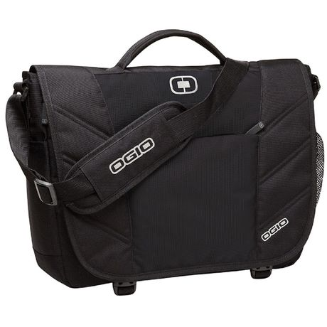 Sac sacoche messenger - porte documents - UPTON OG007 NOIR - compartiment ordinateur portable