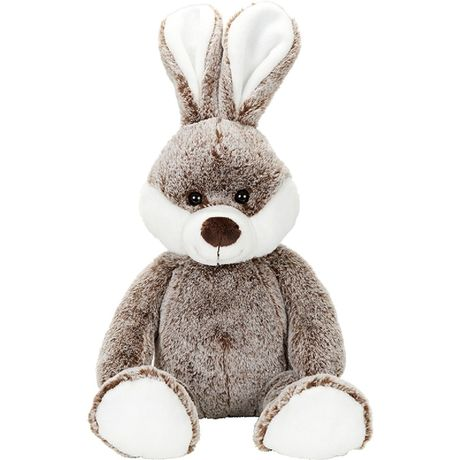 Peluche grand lapin - 60815 - marron