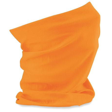 Echarpe tubulaire - tour de cou adulte - B900 - orange fluo