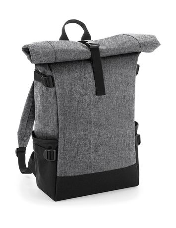 Sac à dos roll-top 22L - compartiment ordinateur - BG858 - gris merle