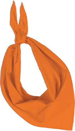 Lot de 10 bandanas fiesta - orange