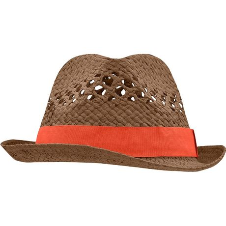 Chapeau - MB6598 - marron et grenadine