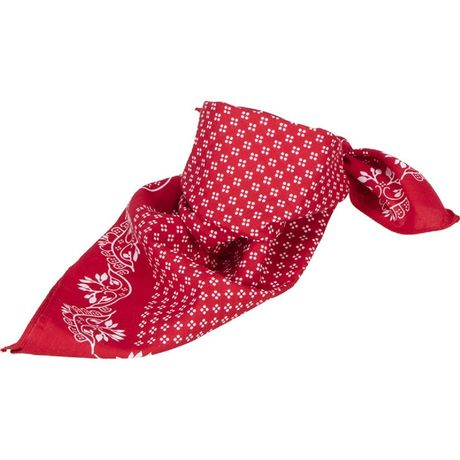 Bandana carré - MB6400 - rouge