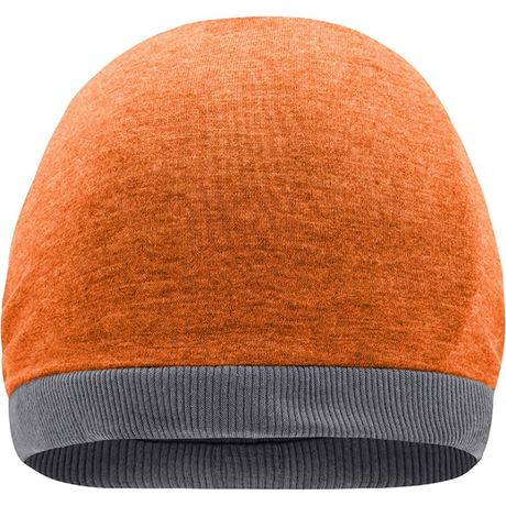 Bonnet tricot d'été - MB6577 - orange mélange