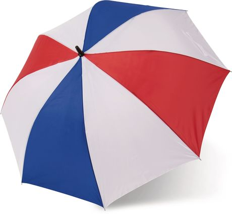 Grand parapluie de golf - KI2008 - bleu blanc rouge - tricolore - couleurs de la France
