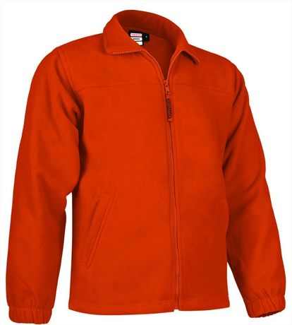 Veste polaire zippée - Homme - REF DAKOTA - orange