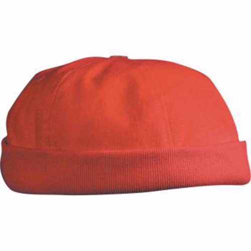 Bob - bonnet marin docker - velours - MB022 - rouge