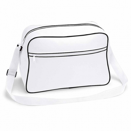 Sac bandoulière retro shoulder bag BG14 - blanc