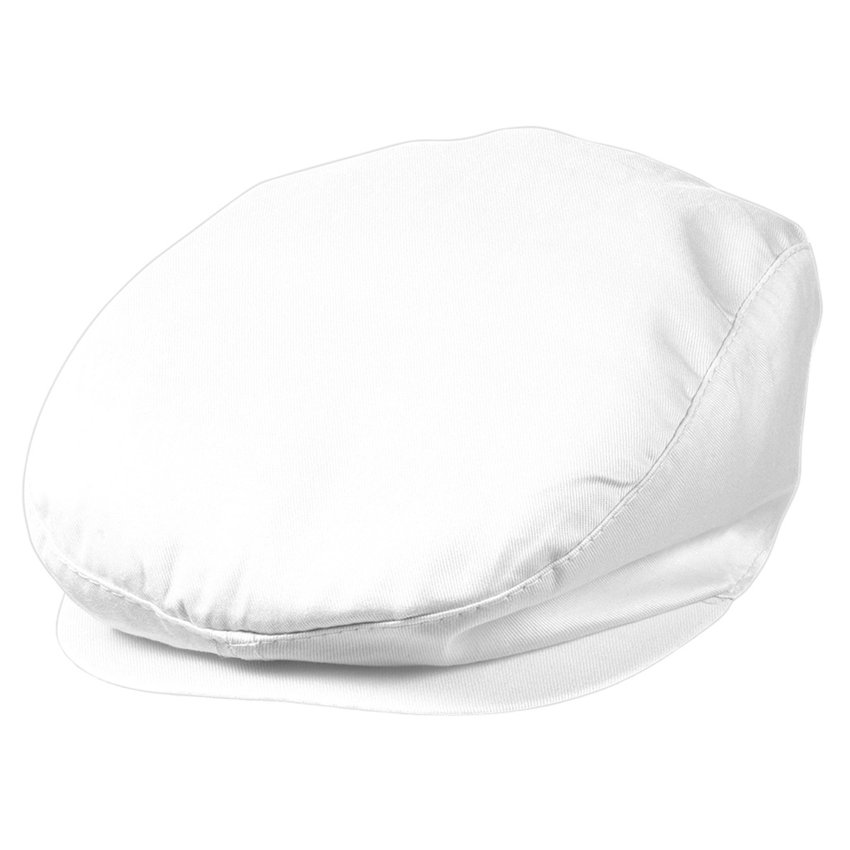 Casquette plate - MB007 - blanc