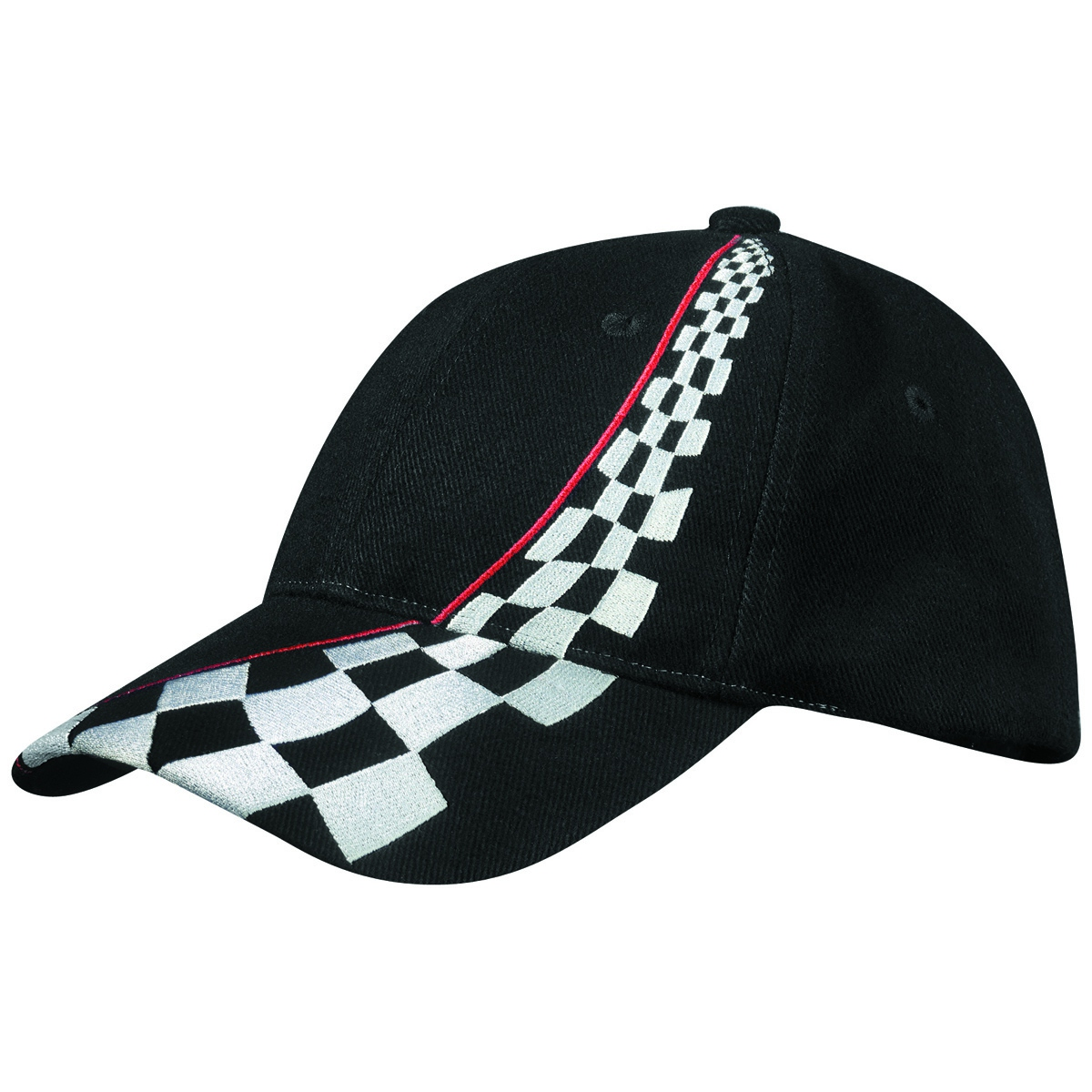 casquette style f1 rallye drapeau damier formule 1 course automobile. Black Bedroom Furniture Sets. Home Design Ideas