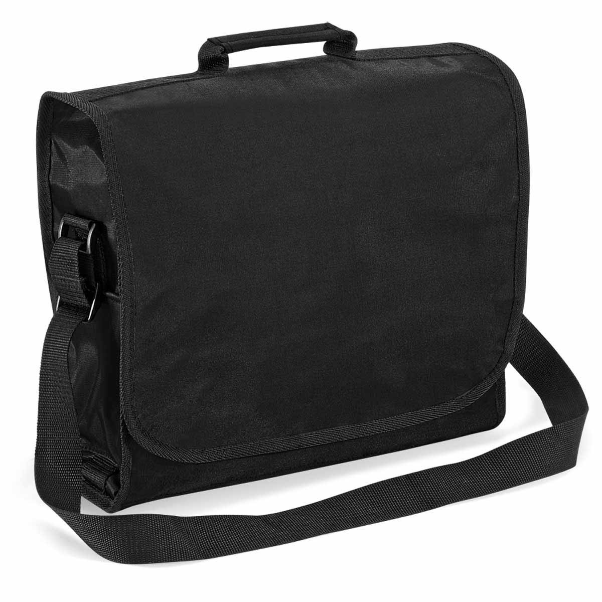 Sacoche bandoulière porte documents - DOCUMENT BAG - QD90 - Noir