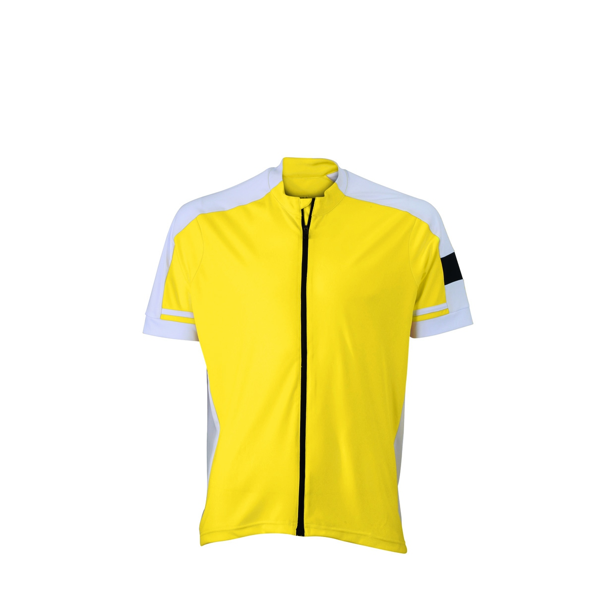 maillot cycliste zipp homme jn454 jaune ebay. Black Bedroom Furniture Sets. Home Design Ideas