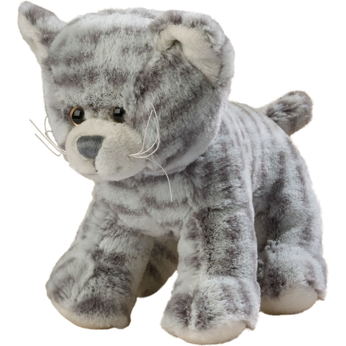 Peluche chat chaton gris - VANESSA - 60073