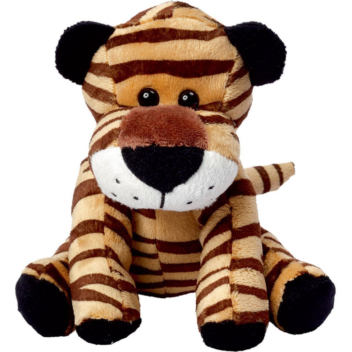 Peluche tigre - DAVID - 60032 marron