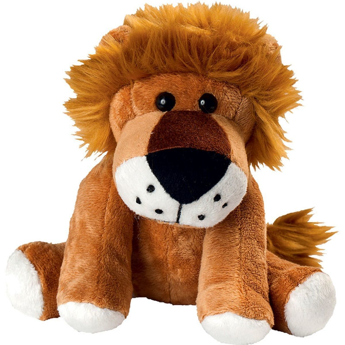 Peluche lion - 60033 - marron