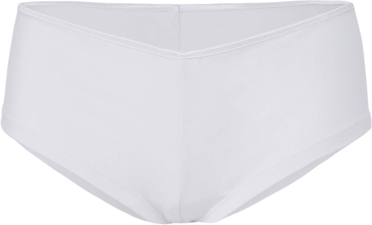Shorty boxer femme taille basse - 491 - blanc
