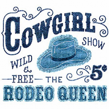 T-shirt homme manches courtes - Country - Cowgirl Rodeo Queen - 1244