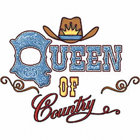 T-shirt FEMME manches courtes - Country - Queen of Country - 3207