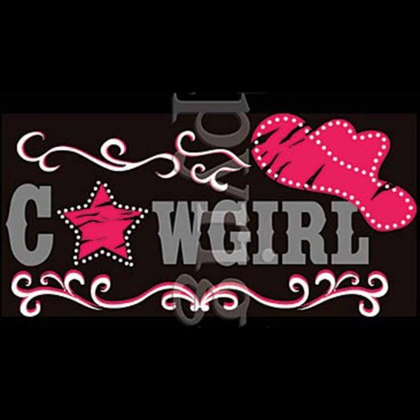 T-shirt femme manches courtes - Cowgirl style country musique - 1046