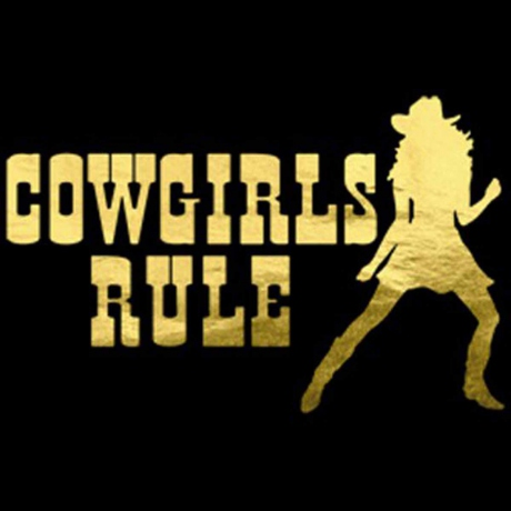 T-shirt femme manches courtes - Country Music Cowgirl rule - 11713