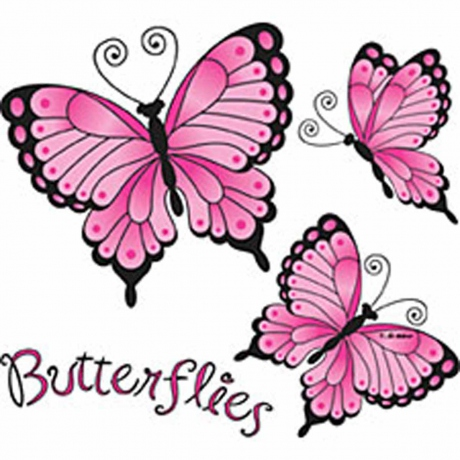 T-shirt femme manches courtes - Papillons mode - Butterfly - 1021