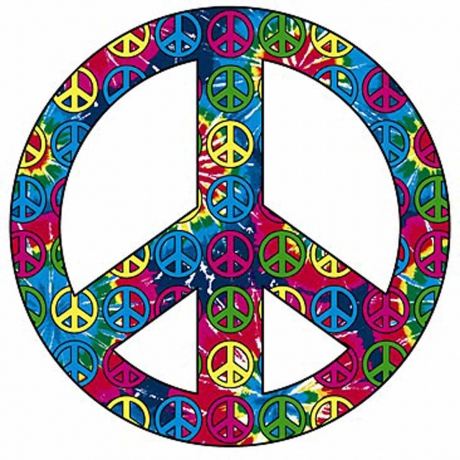 T-shirt femme manches courtes - PEACE and LOVE - 10102