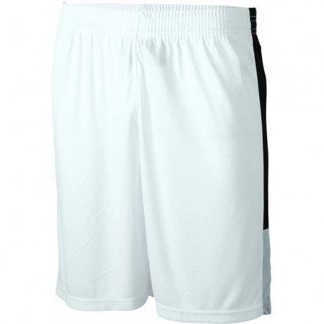 Short multi sport ADULTE - Foot basket handball - JN468 - blanc