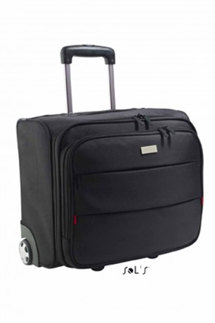 Valise trolley 71120 noir - compartiment ordinateur portable