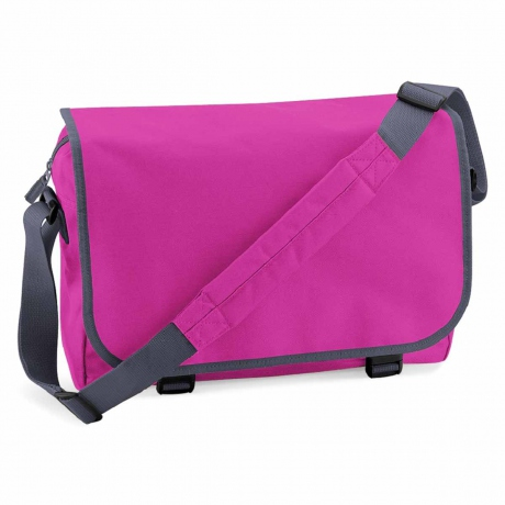 Sac bandoulière sacoche porte documents - BG21 - rose fuschia