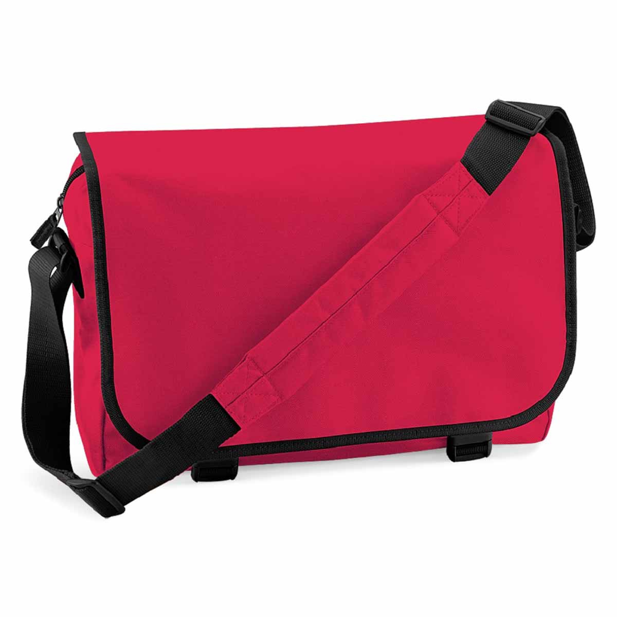 Sac bandoulière sacoche porte documents -  BG21 - rouge bright