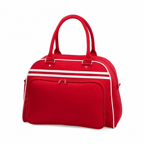 Sac sport Retro Bowling Bag BG75 rouge
