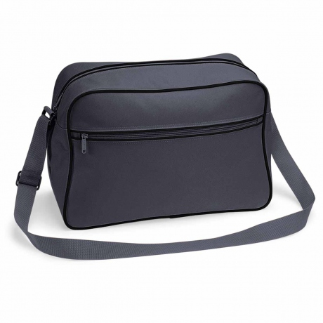 Sac bandoulière retro shoulder bag BG14 - gris graphite