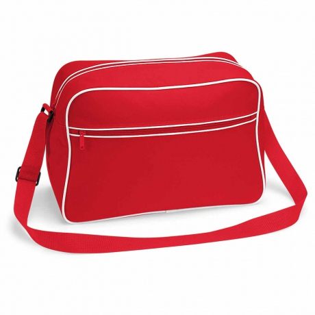 Sac bandoulière retro shoulder bag BG14 - rouge
