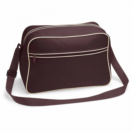 Sac bandoulière retro shoulder bag BG14 - marron chocolat