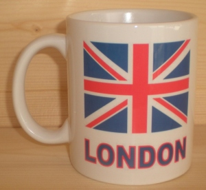 Mug blanc - Drapeau anglais UK britannique LONDON