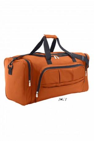 Sac de voyage multi poches 48L - WEEK END - 70900 - orange
