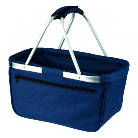 Panier pliable cabas courses shopping - Shopper basket 1803939 bleu marine