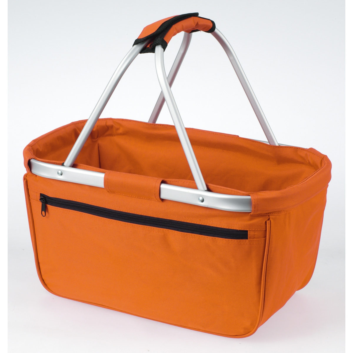 Panier pliable cabas courses shopping - Shopper basket 1803939 orange