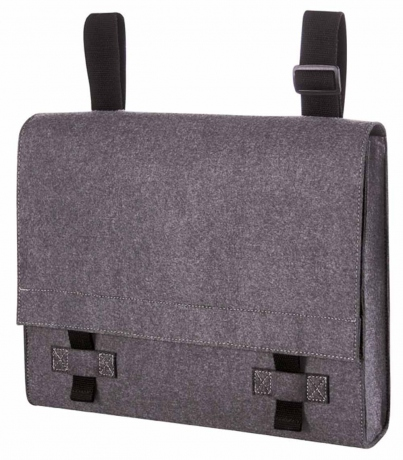 Sac bandoulière feutrine COLLEGE bag - 1807799 - marron