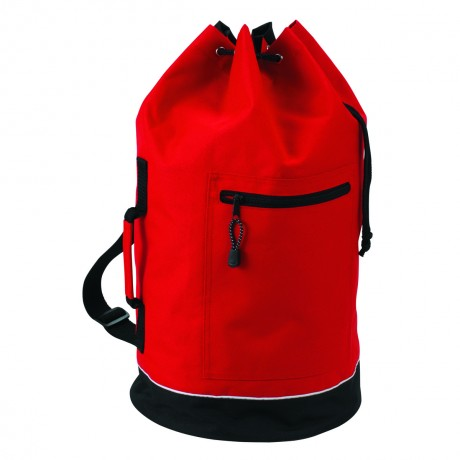 Sac voyage marin paquetage polochon  - CITY - 1802781 - rouge