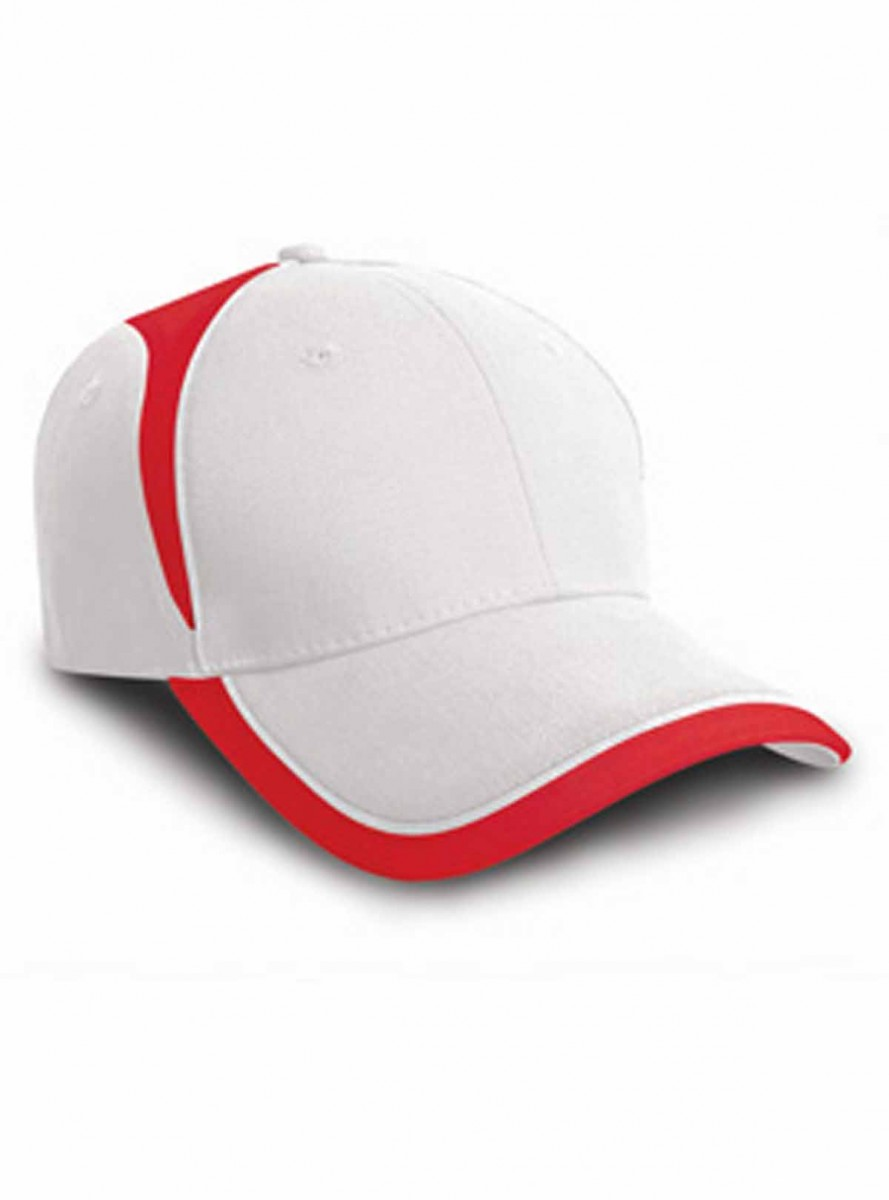Casquette supporter couleurs Angleterre - RC062 -blanc