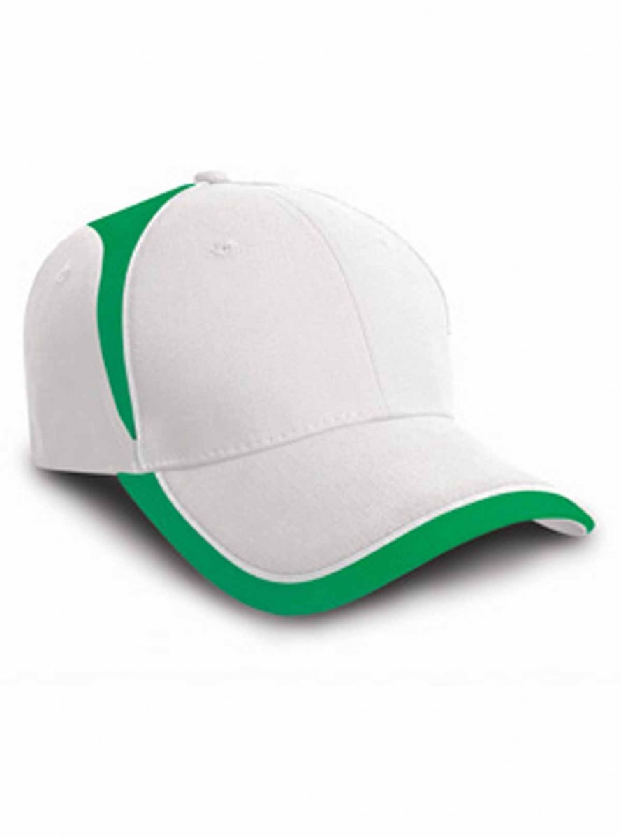 Casquette supporter couleurs Irlande - RC062 - blanc