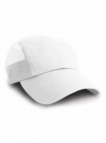 Casquette sport maille - RC047 - blanc
