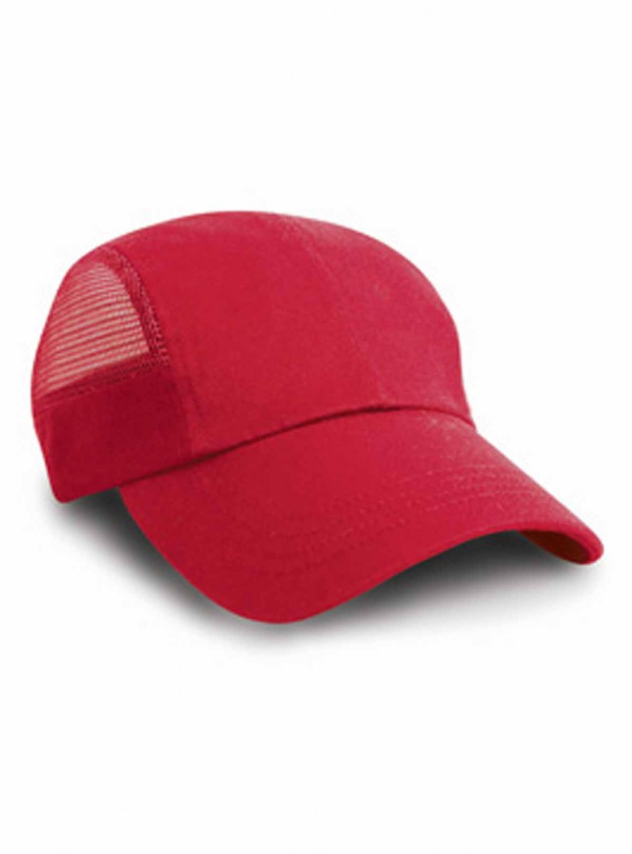 Casquette sport maille - RC047 - rouge